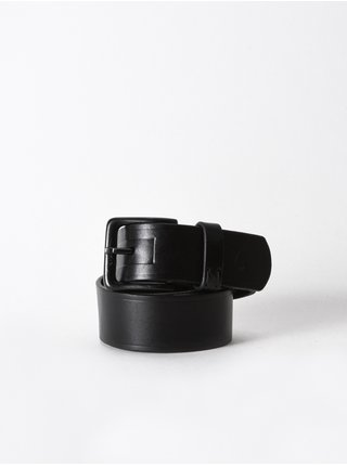 Nixon AMERICANA black pánský kožený pásek - černá