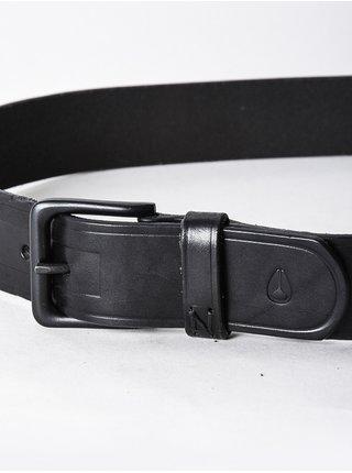 Nixon DNA black pánský kožený pásek - černá