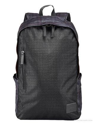 Nixon SMITH SE BLACKGRAY batoh do školy - černá