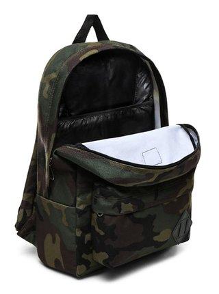 Vans OLD SKOOL III Classic Camo batoh do školy - zelená