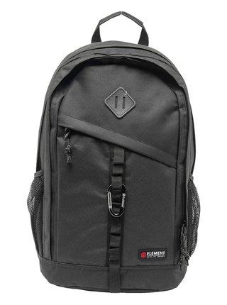 Element CYPRESS all black batoh do školy - černá