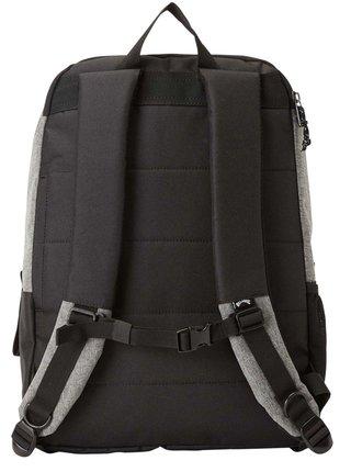 Billabong COMMAND SKATE grey heather batoh do školy - černá