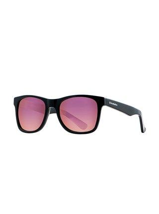 Horsefeathers FOSTER gloss black/mirror rose sluneční brýle pilotky - černá