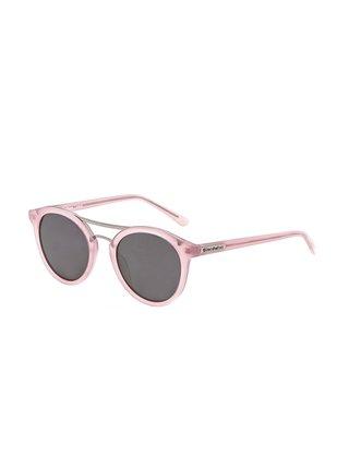 Horsefeathers NOMAD gloss rose/mirror champagne sluneční brýle pilotky
