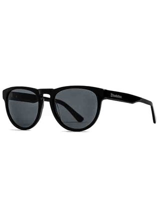 Horsefeathers ZIGGY gloss black/gray sluneční brýle pilotky - černá