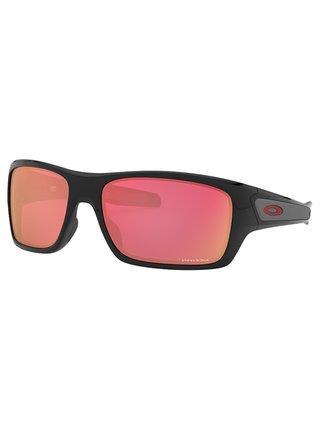 Oakley Turbine Pol Blk w/ PRIZM Snw Trch sluneční brýle pilotky - černá