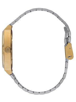 Nixon TIME TELLER GOLDSILVERSILVER analogové sportovní hodinky