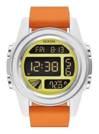 Nixon UNIT SW REBELPILOTORANGE pánské hodinky digitální - oranžová
