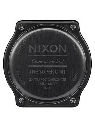 Nixon SUPER UNIT ALLRED pánské hodinky digitální - červená