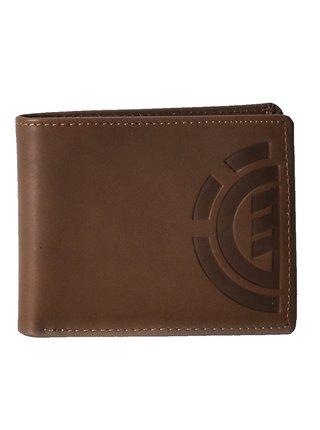 Element DAILY ELITE brown pánská značková peněženka - hnědá