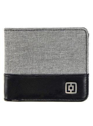 Horsefeathers TERRY HEATHER GRAY pánská značková peněženka - šedá