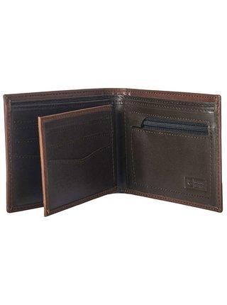 Rip Curl CLASSIC ALL DAY  brown pánská značková peněženka - hnědá