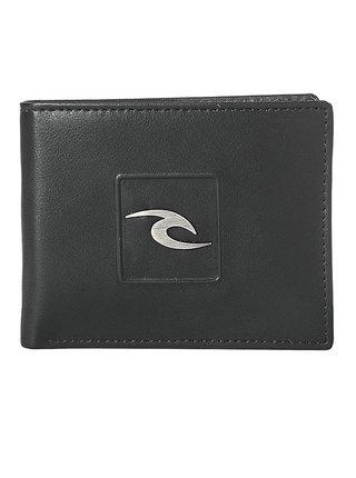 Rip Curl RIDER ALL DAY  black pánská značková peněženka - černá