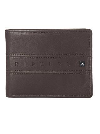 Rip Curl WORD BOSS PU ALL DAY brown pánská značková peněženka - hnědá