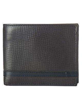 Rip Curl OVERLAP 2 IN 1  brown pánská značková peněženka - hnědá