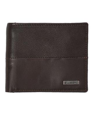 Billabong FIFTY50 ID LEATHER CHOCOLATE pánská značková peněženka - hnědá