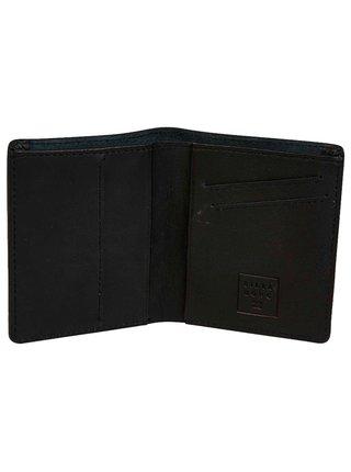 Billabong GAVIOTAS LEATHER black pánská značková peněženka - černá