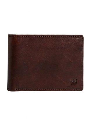 Billabong VACANT LEATHER CHOCOLATE pánská značková peněženka - hnědá