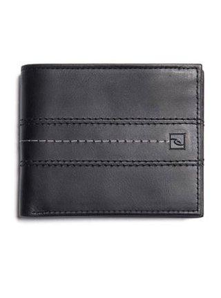 Rip Curl STITCH ICON RFID 2 I black pánská značková peněženka - černá