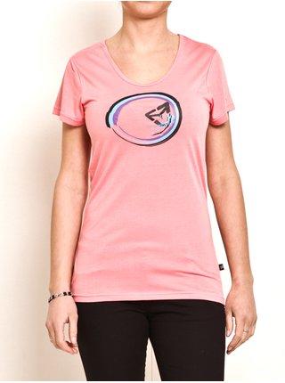 Vehicle WAVE LOSOS dámské triko s krátkým rukávem - růžová