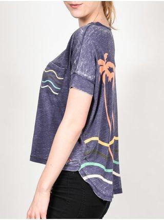 Roxy PRETTY BTC0 dámské triko s krátkým rukávem - modrá