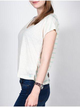 Roxy DOLMAN PALM WCD0 dámské triko s krátkým rukávem - bílá