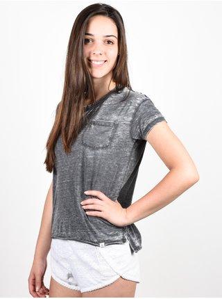 Element NORA OFF BLACK dámské triko s krátkým rukávem - šedá