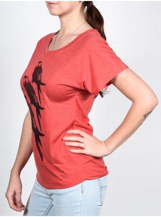 Ezekiel Poll VRD dámské triko s krátkým rukávem - červená