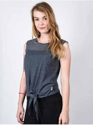 Element TRACY black dámské triko s krátkým rukávem - šedá