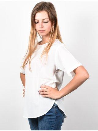 Ezekiel Tulip WHT dámské triko s krátkým rukávem - bílá