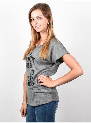Ezekiel Everywhere PREH dámské triko s krátkým rukávem - šedá