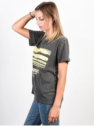 Billabong BAD WATER OFF BLACK dámské triko s krátkým rukávem - tmavě šedá