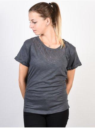 Roxy COLORFUL WATER TURBULENCE dámské triko s krátkým rukávem - šedá