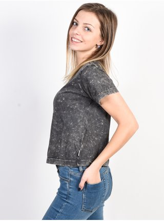 Element SPOTLIGHT ASPHALT dámské triko s krátkým rukávem - šedá