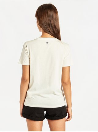 Billabong COSMO COOL WIP dámské triko s krátkým rukávem - bílá