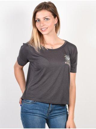 RVCA PSYCHIC Iron dámské triko s krátkým rukávem - šedá