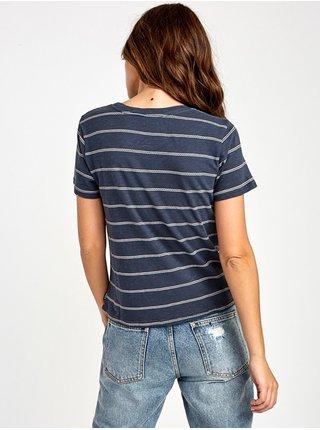 RVCA SIRENS INK dámské triko s krátkým rukávem - modrá