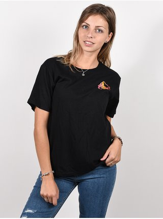 Element SYNERGY black dámské triko s krátkým rukávem - černá