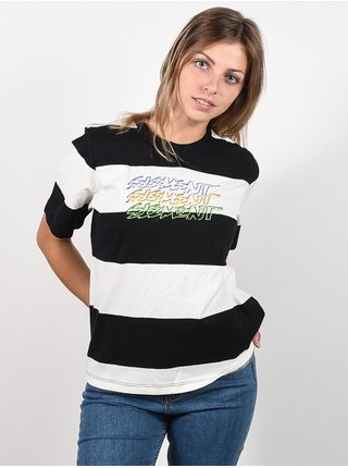 Element ROBBIE off white dámské triko s krátkým rukávem - černá
