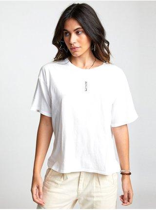 RVCA GOOD VS. EVIL Vintage White dámské triko s krátkým rukávem - bílá