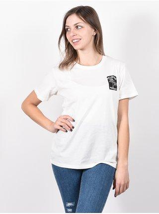 Billabong FIRST SALT CRYSTAL dámské triko s krátkým rukávem - bílá