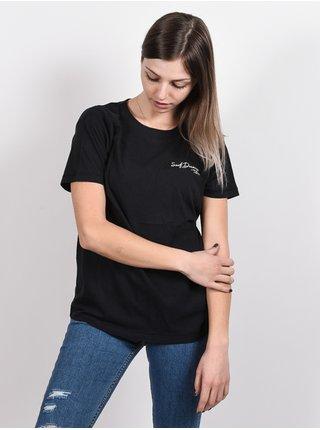 Billabong BABE black dámské triko s krátkým rukávem - černá