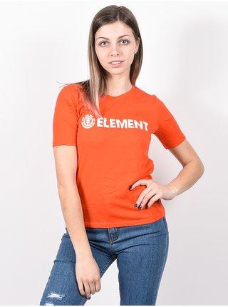 Element LOGO GRENADINE dámské triko s krátkým rukávem - červená
