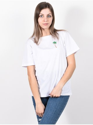 Femi Stories MANUEL WHT dámské triko s krátkým rukávem - bílá