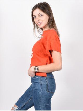 Billabong PARADISE ALL DAY SAMBA dámské triko s krátkým rukávem - červená