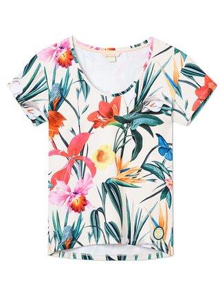 Femi Stories LANDA MDW dámské triko s krátkým rukávem - barevné