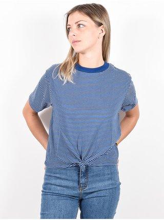 RVCA RADLEY FEDERAL BLUE dámské triko s krátkým rukávem - modrá