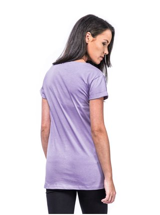 Horsefeathers NICKI wisteria dámské triko s krátkým rukávem - fialová