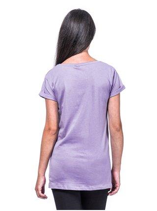 Horsefeathers COUNTING wisteria dámské triko s krátkým rukávem - fialová