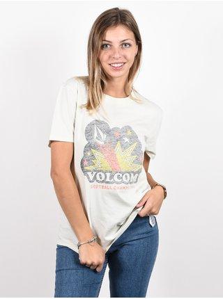 Volcom Lock It Up MIST dámské triko s krátkým rukávem - bílá